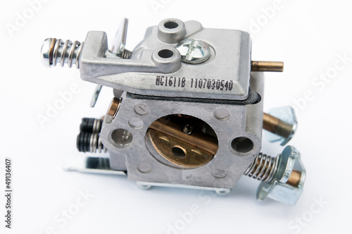 carburettor on a white background