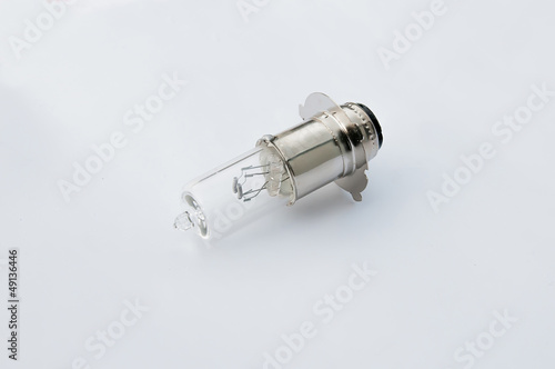 halogens on a white background