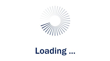 Loading - blue