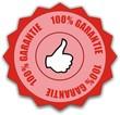 médaille 100% garantie