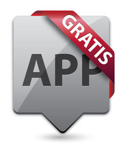 App Pointer Button Gratis Red