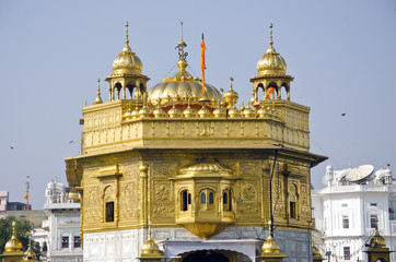 sikh Golden temple in Amritsar, India