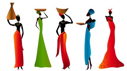 femmes africaines stylisées 03