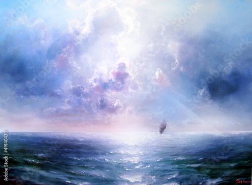 Seascape Open sea