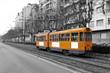 Fototapete Zug - Schiene - Eisenbahn