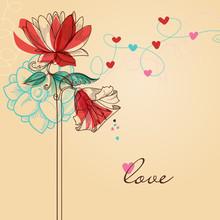 Walentynki pozdrowienia dni karta komunikat miłość