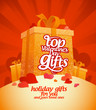 Top Valentine`s day gifts design template