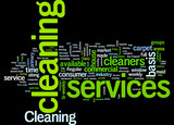 Cleaning service in your area Concept