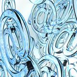 Internet Background - blue -