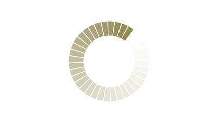 Loading - cercle beige