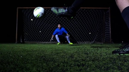 Goalkeeper Make A Save