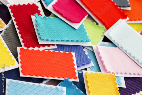 Design, fashion - A fabric samples