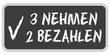 CB-Sticker TF eckig oc 3 NEHMEN 2 BEZAHLEN