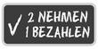 CB-Sticker TF eckig oc 2 NEHMEN 1 BEZAHLEN