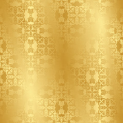 Seamless vintage background in gold