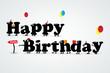 funny happy birthday party flyer