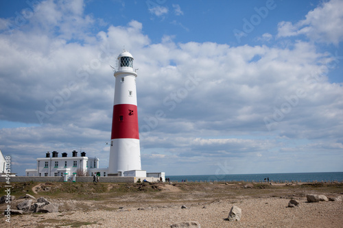 Portland Bill lighthouse, Dorset, UK, Jurassic coast