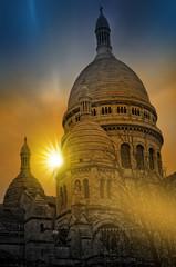 Sacré Coeur à Montmartre, Paris