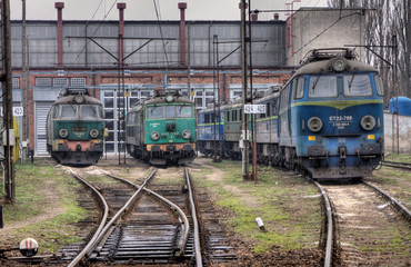 Old polish trains