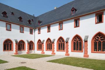 Old German abbey in Bernkastel, Germany