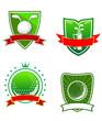 Golf emblems and symbols