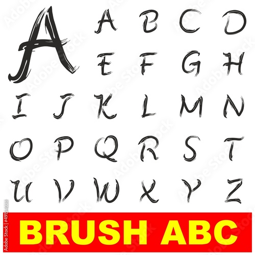 PAINT BRUSH ABC