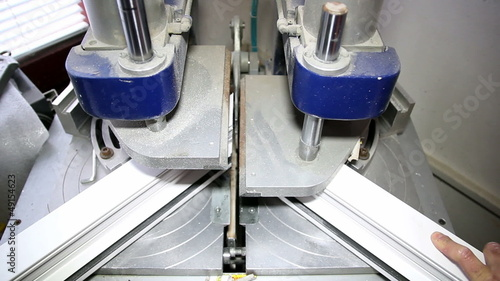 Machine for Welding Plastic Corners