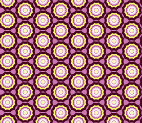 Abstract pattern seamless. Elegant vector background.