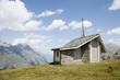 スイスアルプス、高原の教会