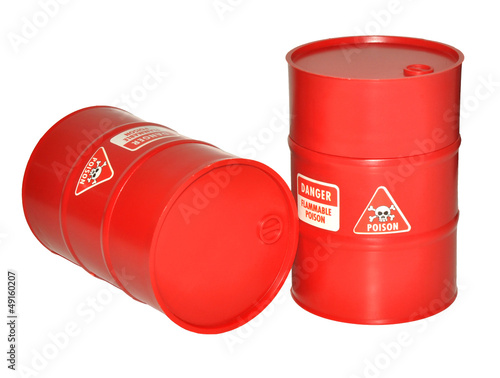 Plastic Toy Barrels