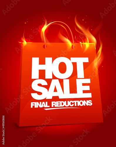 Fiery hot sale design.
