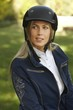 Portrait of attractive female rider