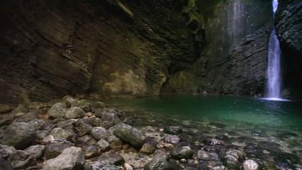 Kozjak waterfall - Slap Kozjak, Slovenia