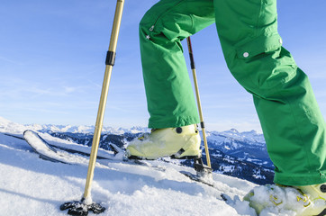Skitour vor Traumkulisse