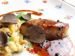 Truffle & Foie gras / French cuisine