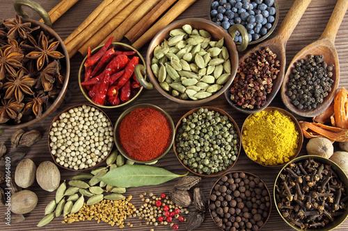 Zdjęcia na płótnie, fototapety na wymiar, obrazy na ścianę : Spices