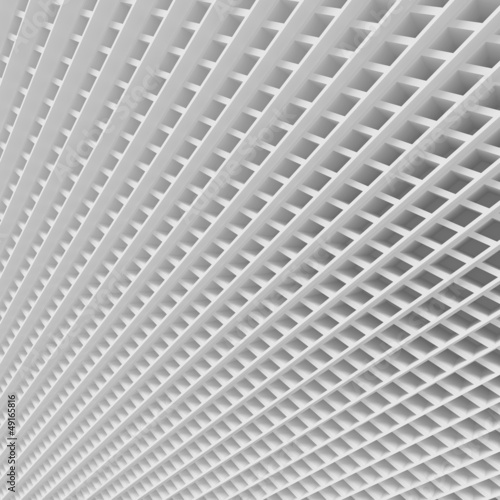 White Abstract Grid Background