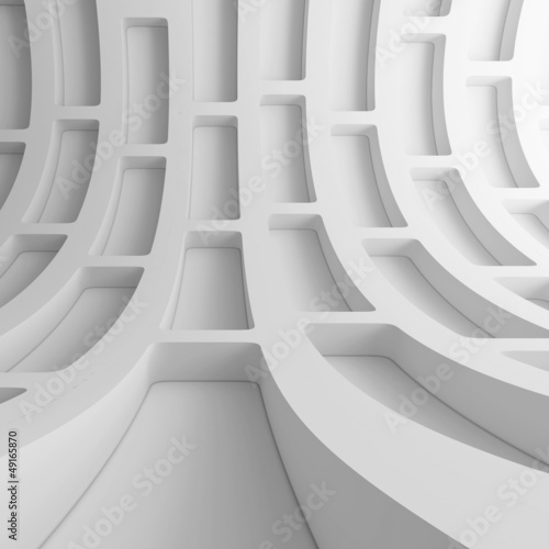 White Urban Tunnel