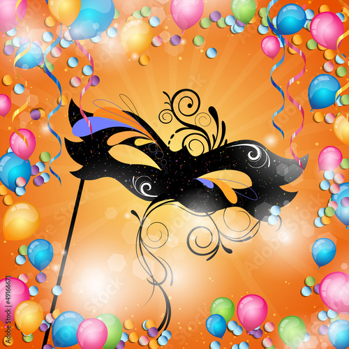 Vector Illustration of a Festive Background