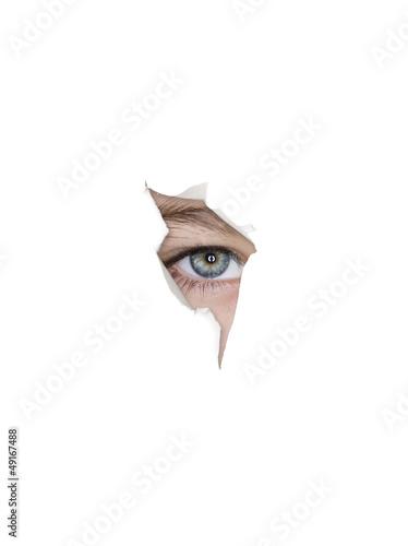 Occhio nello strappo