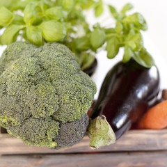 légumes varié du jardin