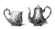 Silversmith's Masterpieces - Pots - 19th century