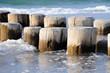 Fototapeten,wellenbrecher,brücke,meer,stranden