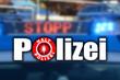 Polizeikelle mit Blaulicht