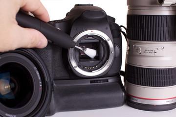 nettoyage capteur appareil photo numérique