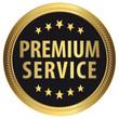 Premium Service - Goldvignette