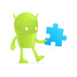 funny cartoon android