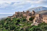 Historic village Vathia, Mani, Peloponnese, Greece