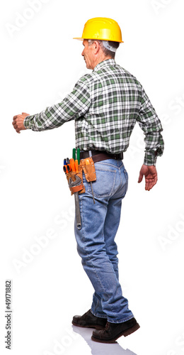 walking handyman