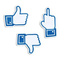 i like daumen finger